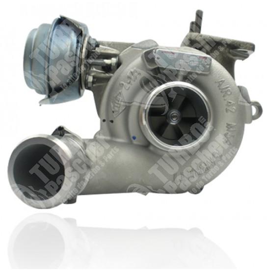 Photo Turbo échange standard GARRETT - 1.9 JTDM 140cv 126136140cv, 1.9 JTD 140cv 126136140cv 150cv 126136cv
