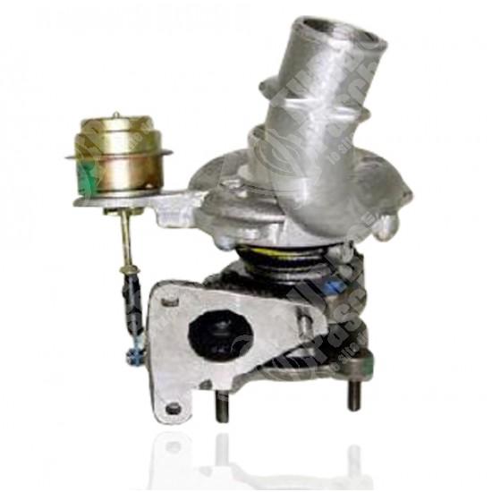 Photo Turbo neuf d'origine GARRETT - 1.9 DID 102cv, 1.9 DCI 82cv 102cv 100cv 107cv 105cv 105107cv 80 82cv, 1.9 TDCI 102cv, 1.9 TDI 102cv, 1.9 DTI 100cv, 1.9 DI 80cv