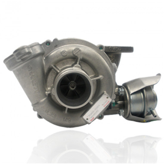 Photo Turbo échange standard GARRETT - 1.6 DE 109cv, 1.6 HDI 110cv 110112cv, 1.6 TDCI 100109cv 90cv 90110cv 109cv, 1.6 MZ-CD 109cv, 1.6 D 90cv 110cv 90110cv